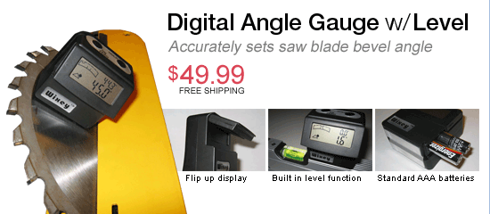 Digital Angle Gauge with Level